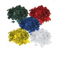 Involight SL2401P - конфетти бумажные (зелёный, красный, белый, желтый, синий) 1кг