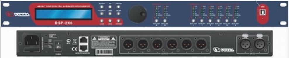 Цифровой управляющий портальный процессор  DSP 2x6