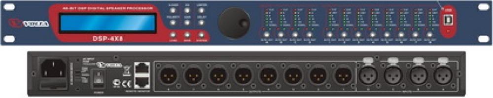 Цифровой управляющий портальный процессор  DSP 4x8
