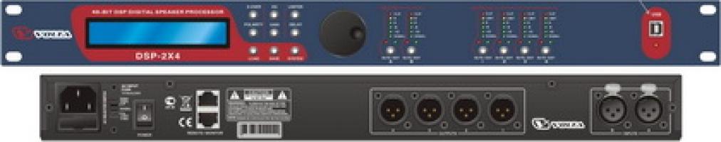 Цифровой управляющий портальный процессор  DSP 2x4