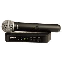 SHURE BLX24E/PG58 K3E 606-638 MHz